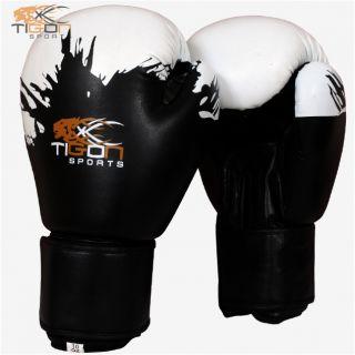 Pro Gel Boxing Gloves Bag Punching Bag MMA Rex Leather Sparring Gloves