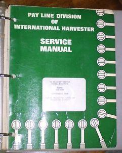 International Harvester 14 18 691 Series Diesel Engines Service Manual