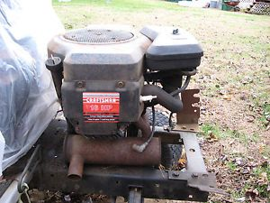 Briggs Stratton 16 HP Engine 4 Cycle Elec Ign Twin Cyl Cast Iron Bores