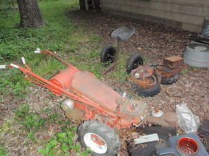Gravely Garden Tractor with Attachments and Parts
