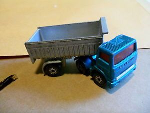 Matchbox 1980 Articulated Truck NO30 Blue