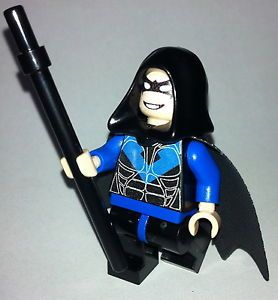 Hot Newest Custom Nightwing Hood Batman Theme Robin Built Using Lego Parts
