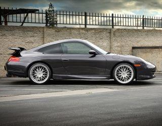 """19"""" Avant Garde Ruger R10 Wheels Silver Porsche 911 996 997 Narrow Body C2 C4"""
