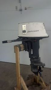 Johnson 25 HP Outboard Motor Boat Engine 15 25 30 Short Shaft OMC