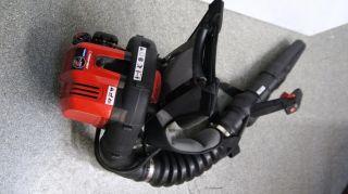 Troy Bilt TB2BP EC Backpack Gas Leaf Blower 27cc 2 Cycle Full Crank Engine