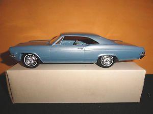 AMT 1 25 1965 Chevrolet Impala Hardtop Mist Blue Dealer Promo w Box