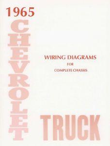 Chevrolet 1965 Truck Wiring Diagram 65 Chevy Pick Up