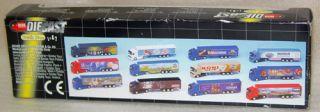 Toy Semi Truck Lot