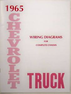 65 1965 Chevy Truck Wiring Diagram Manual