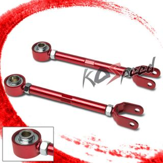 Nissan 350Z Z33 G35 VQ35 Red Rear Lower Suspension Traction Control Rod Arm