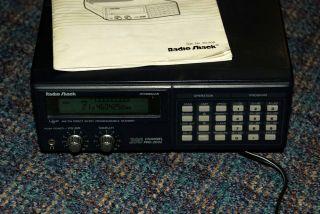 Radio Shack Scanner Programmable 200 Channel Pro 2032