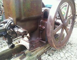 John Deere 11 2 HP Hit Miss Engine Orignal Waterloo Flywheel Magneto Stationary