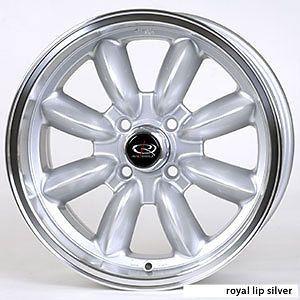 16 Rota RB Silver Rims Wheels Tires Mini Cooper 195 55 16 Falken 912