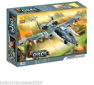 Military Supersonic Fighter Jet Building Blocks Lego 384pcs 5660 Free Gift