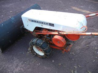 Vintage Gravely Walkbehind Tractor Mower