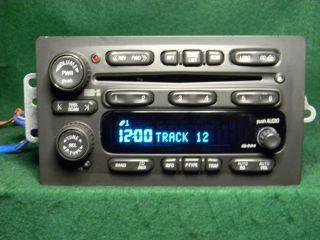 03 06 GM Chevy Tahoe Silverado Suburban CD Changer Radio 25753974 5 03 Unlock