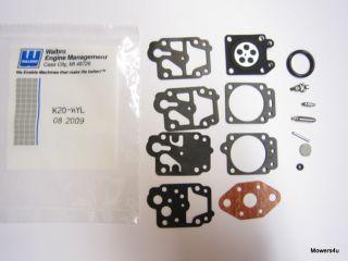 Walbro WYL Carburetor Repair Kit Ryobi 753 04014