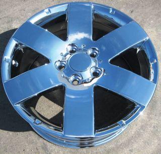 "Set of 4 17"" New Factory Saturn Vue Impala Captiva Sport Chrome Wheels Rims"