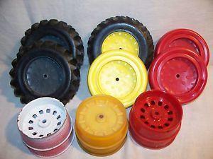 John Deere Oliver International Tires Wheels for Parts Repair Rebuild