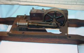 Small 1920s Steam Engine Model Somewhat Rough