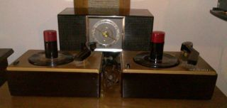 RCA Victor 45 RPM Record Players and Matching Radio
