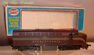 Train Model Power Pennsylvania Railroad Baldwin Shark Nose Diesel Engine HO