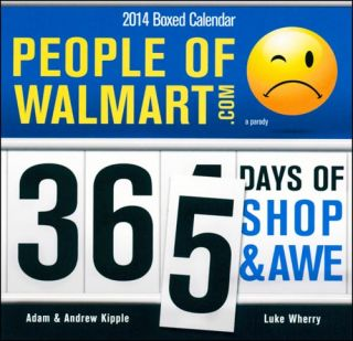 People of Wal Mart 2014 Desk Calendar