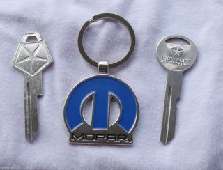 Vintage Key Set Will Fit Chrysler Dodge Plymouth 1967 1985