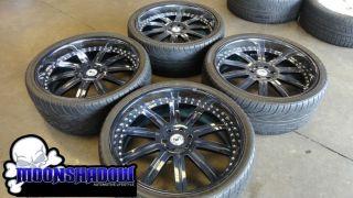 "26"" asanti AF 134 Custom Painted 3 Piece Wheels Rims Cadillac Escalade Denali"