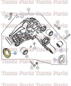 Mopar Rear Axle Drive Pinion Seal Jeep Grand Cherokee Dodge Durango RAM 1500