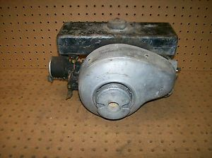 Antique Vintage Power Products Model 1000 2 Cycle Engine Motor Runs