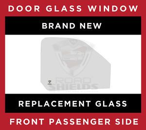 00 02 Saturn SL1 SL2 4 Door Sedan Right Front Passenger Side Window Glass New