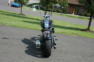 V Twin Chrome Headlight Turn Signal Bracket Harley Chopper Custom Bobber