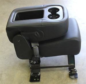 Leather Chevy Jump Center Middle Seat Console Front GM Truck Silverado Sierra
