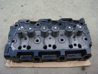 John Deere 430 455 755 F935 Yanmar 3TNA72 Engine Cylinder Head