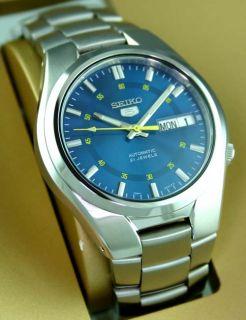 brand new 7b27a f5756 Seiko Men Automatic See thru Steel Racer Watch SNK615K1