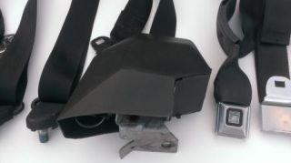 1973 1987 Chevy GMC Truck Seat Belts Black Silverado Blazer 80 82 83 84 85 86
