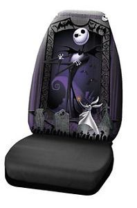 Nightmare Before Christmas Jack Skellington Auto Truck Car Seat Cover