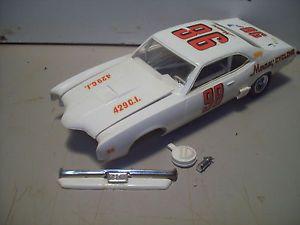 MPC 1971 Mercury Cyclone Race Car Built Model Kit Parts