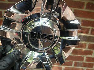 1802 Bigg Wheels Chrome Aftermarket Alloy Wheel Center Hubcap Hub Cap Cover