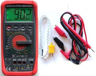 Digital Tachometer Meter Tach Dwell Tester Multimeter SHIP from USA