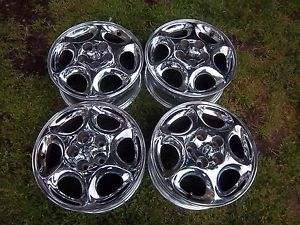 16 Oldsmobile Intrigue Silhouette Chrome Factory Rims Wheels 97 03 6030