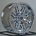 17 inch Chrome Wheels Rims Ford Truck Super Duty F250 F350 F 250 350 8 Lug New