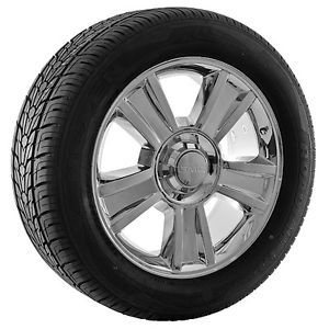 "20"" inch GMC Sierra Yukon Denali Chrome Wheels Rims and Tires"