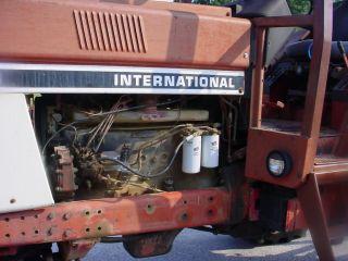 International 986 2 Wheel Drive Farm Tractor