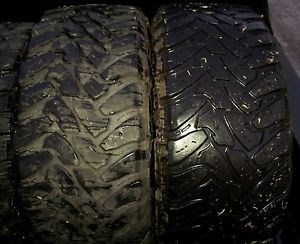2 35x12 50R20 Toyo Open Country M T Tires 35x12 50x20 35 inch Nitto Mud Grappler