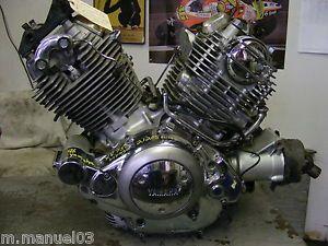 96 1996 Yamaha XV750 XV 750 Virago Engine Motor 4042