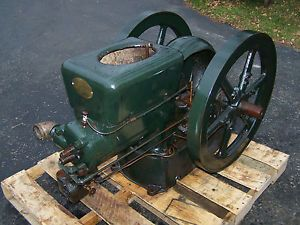 Old 6hp Fairbanks Morse Z Hit Miss Gas Engine Steam Tractor Magneto Oiler Nice