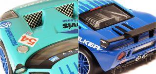 Scalextric Digital Slot Car C3136D Ford GT R Falken