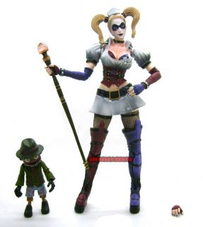 DC DCD Batman Arkham Asylum Square Enix Play Arts Kai Harley Quinn Action Figure